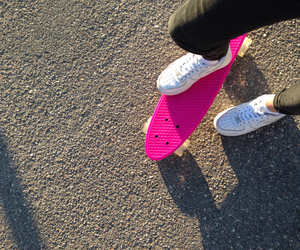 black, board, and hot pink image