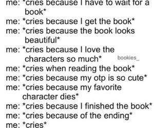book and cry image