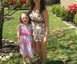 easter, family, and sisters image