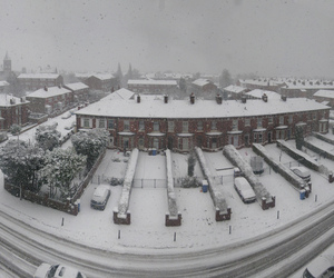 blizzard, stockport, and manchester image