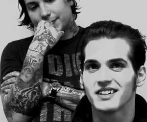 mikey way, frank iero, and my chemical romance image