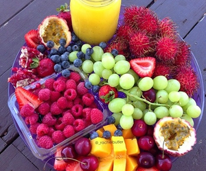 strawberry., cherry., and fruits. image