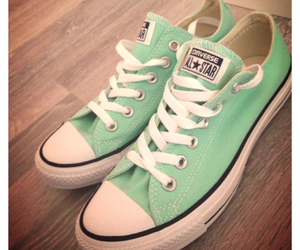shoes, all stars, and converse image