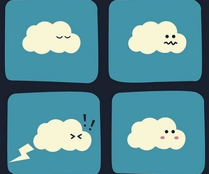 clouds, funny, and fart image