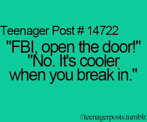 fbi, funny, and teenager post image