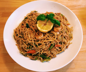 filipino, food, and noodles image