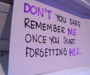 text, remember, and forget image