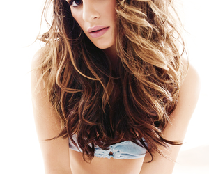 lea michele, glee, and louder image