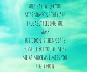 come back, i miss you, and possible image