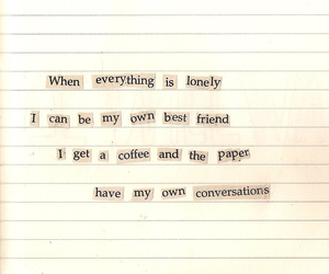 quote and lonely image