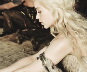 game of thrones, daenerys targaryen, and emilia clarke image
