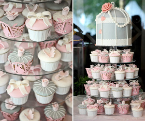 cake, cupcakes, and decorated image