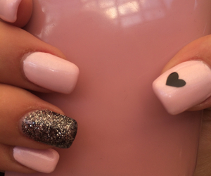 heart, me, and nails image