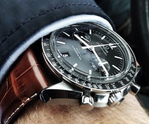 men, watch, and luxury image