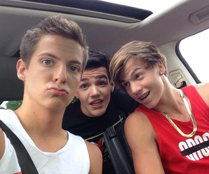 taylor caniff, aaron carpenter, and dillon rupp image