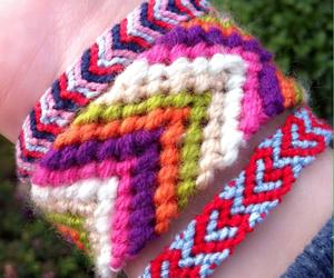 bracelets, diy, and heart image