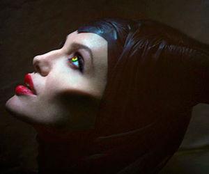maleficent, Angelina Jolie, and disney image