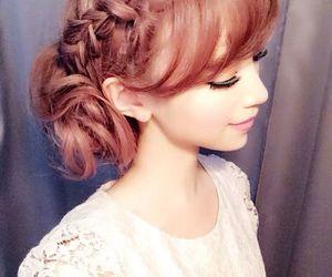 braid, gyaru, and hair image