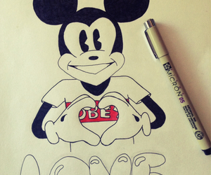 drawing, obey, and swag image
