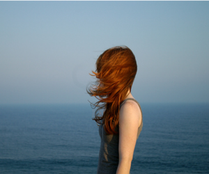 girl, red hair, and redhead image