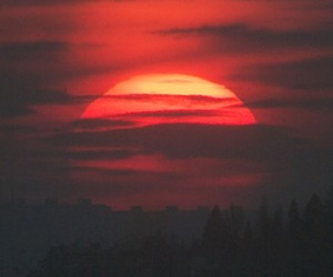 sun and sunset image