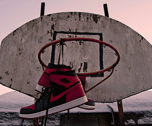 nike, Basketball, and shoes image