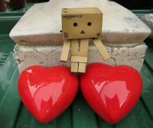 box, lonely, and cute image
