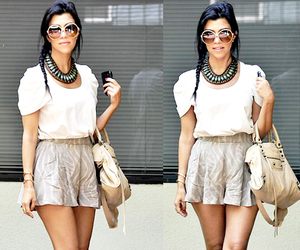 kourtney kardashian, fashion, and style image