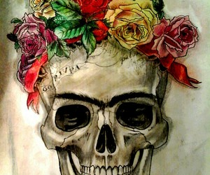 art, black, and dead image