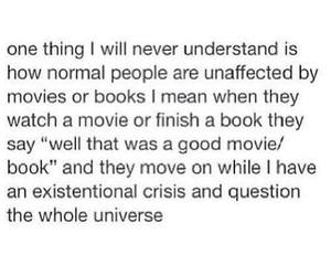 book, movies, and universe image