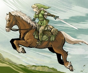 fanart and Legend of Zelda image
