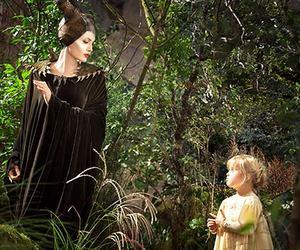 maleficent, Angelina Jolie, and aurora image