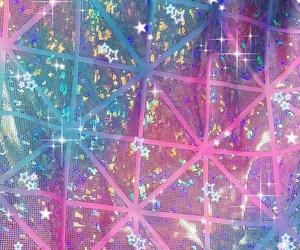 grunge, holographic, and kawaii image