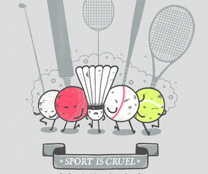 sport, cruel, and funny image