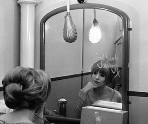 1960s, backstage, and black and white image