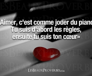 amour, quote, and relation image