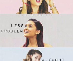 problem, ariana grande, and singer image