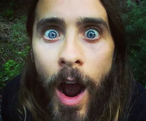 jared leto, 30 seconds to mars, and blue eyes image