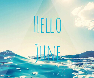 blue, holiday, and june image