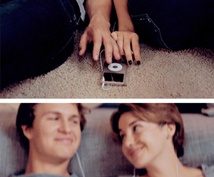hazel, augustus, and the fault in our stars image