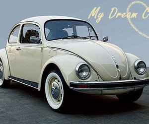 beetle, cars, and vw bettle image