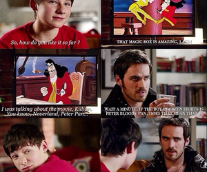 once upon a time, captain hook, and funny image