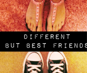 converse, sandals, and best+friends image
