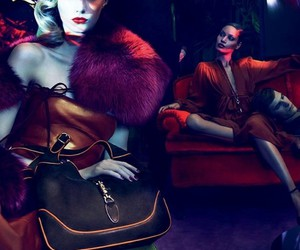 Abbey Lee Kershaw, ad campaign, and gucci image