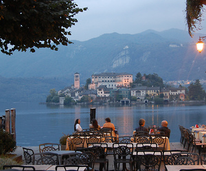 italy, travel, and san giulio island image
