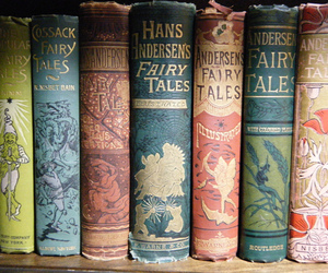 book, fairy tale, and vintage image
