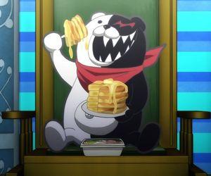 anime, pancakes, and dangan ronpa image