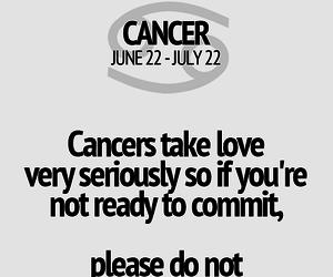 cancer, horoscope, and zodiac image