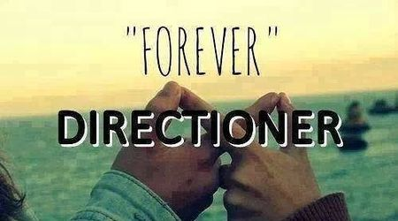 directioner, forever, and one direction image