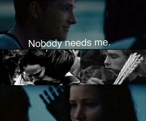 catching fire, beach scene, and nobody needs me image